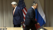 Kerry arrives in Geneva for Syria talks with Lavrov