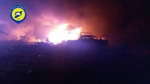 Attack on aid convoy in Syria kills many