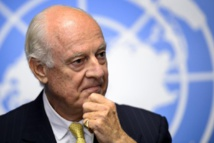 UN Syria envoy warns time 'running out' for east Aleppo