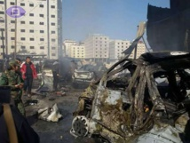 Suicide bomber kills at least eight in Damascus: monitor