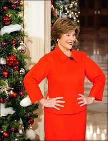 Laura Bush to publish memoirs