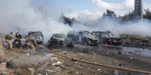 Dozens dead as car bomb hits Syria evacuees