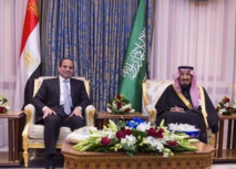 Egypt's Sisi visits Saudi Arabia as tensions ease
