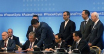 Russia, Turkey, Iran sign deal to set up Syria safe zones