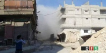 First evacuations from Damascus rebel district