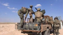 US-backed fighters hunt for IS holdouts in Syria's Tabqa