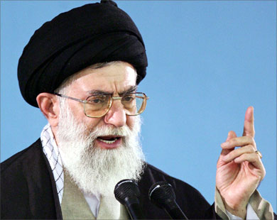 West clashes with Khamenei's Iran over crackdown