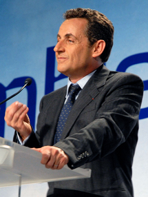 Britain's Brown wishes Sarkozy swift recovery