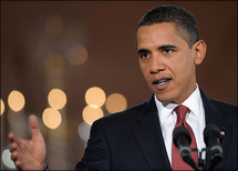 Obama expresses frustration on healthcare reform
