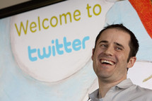 Wife of Twitter CEO 'tweets' delivery