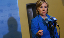 Clinton vows to help defuse N. Ireland stand-off