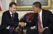 President Dmitry Medvedev and President Barack Obama