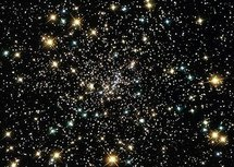 A star cluster in outer space