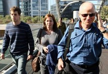 Gilad Shalit's brother, mother and father