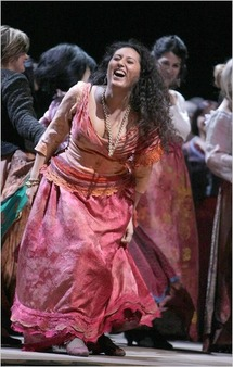 Carmen fires emotions in Milano