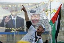 A Fatah supporter (AFP/Hazem Bader)