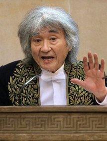 Seiji Ozawa (AFP/File/Pierre Verdy)