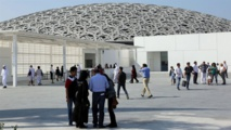 the new Louvre museum in Abu Dhabi