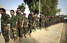 Iraqi Kurdish peshmerga, in Arbil