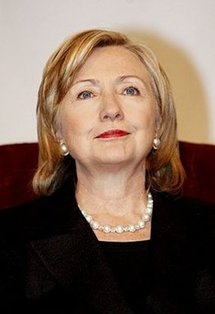 US Secretary of State Hillary Clinton attends the seventh edition of the US-Islamic World Forum in Doha