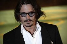 Johnny Depp at the premiere of 'Alice in Wonderland' (AFP/Carl Court)