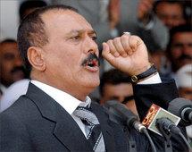 Yemen president Ali Abdala saleh