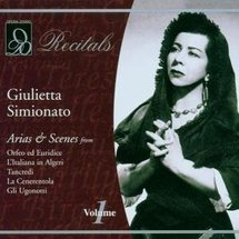 A cover of a Giulietta Simionato album