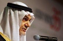 Former Saudi intelligence chief Prince Turki al-Faisal