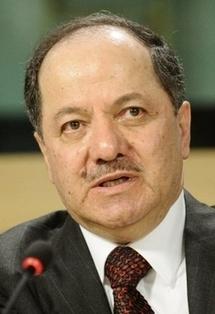 Iraqi Kurd leader Massud Barzani in 2009