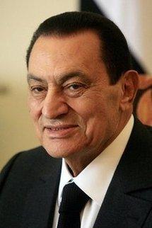 Egyptian President Hosni Mubarak in Cairo, in May 2010