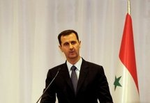 Syrian President Bashar al-Assad, pictured 7th June 2010
