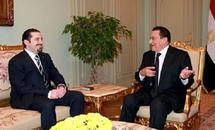 Lebanon's Hariri meets Mubarak in Cairo
