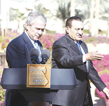 Egypt denies Mubarak swayed Bush on grounds to invade Iraq