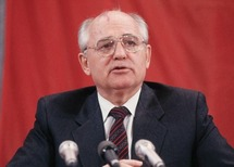 Gorbachev relives perestroika at photo exhibit