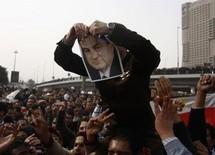 Mubarak stays put on 'departure day'
