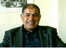 Syrian author Ali al-Abdullah,