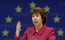 EU's Ashton due in Mideast over stalled peace talks