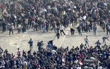 Bloody clashes in Tahrir Square as Egypt tensions mount