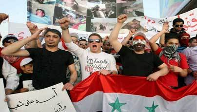 More than 550 freed in Syria, 10 dead in clashes