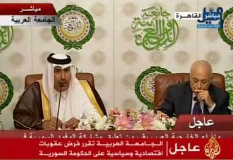 Arabs give Syria Sunday deadline to accept observers