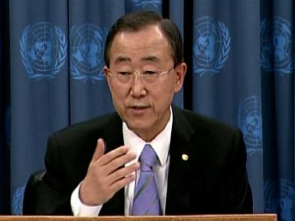 UN chief tells Assad path of repression is 'dead end'