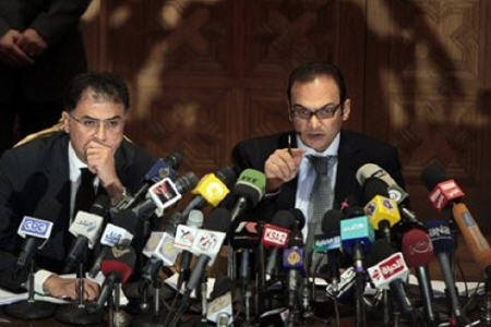 Democracy activists on trial in Egypt