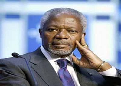 Annan warns Syria conflict could spread, urges UN unity
