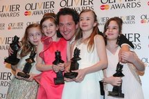 Matilda waltzes off with British theatre accolades