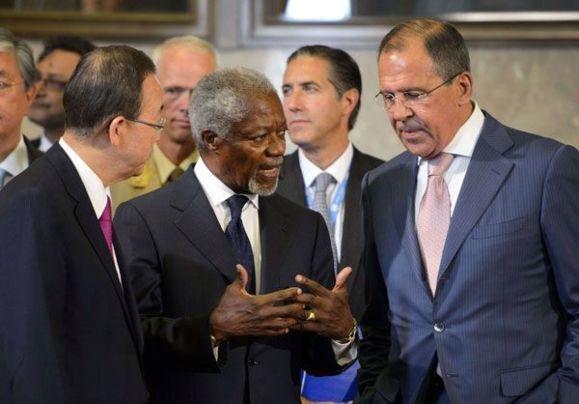 Annan seeks Iran, Iraq help in ending Syria crisis