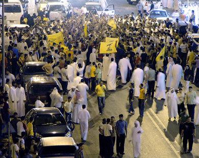 Saudi police fire on Shiite protest: witnesses