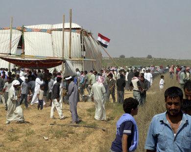 Gunfire in Egypt's tense Sinai: reports