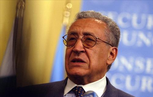 Opposition says Brahimi bringing 'new ideas' on Syria