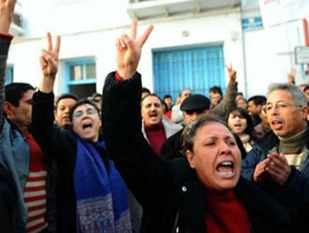Protests, strikes grip central Tunisia