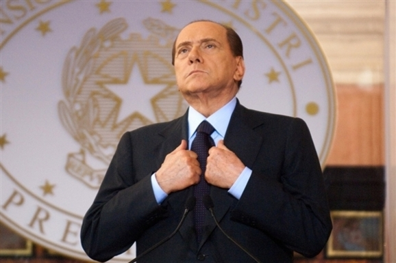 Berlusconi sentenced to prison for tax fraud